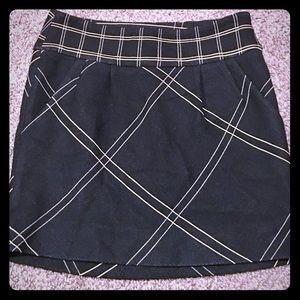 Diane Von Furstenberg Wool Mini Skirt Size 0
